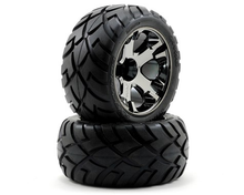 Load image into Gallery viewer, ANACONDA FR. TIRES BLK/CHROME