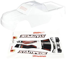 Load image into Gallery viewer, Traxxas 3617 Clear Stampede Body with Decal Sheet
