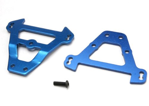 Traxxas 5323 Blue Aluminum Front and Rear Bulkhead Tie Bar, Revo