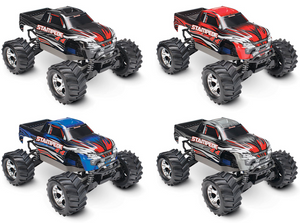 67054-1-RED Stampede 4X4 Brushed 10th Scale 4WD Monster Truck Red