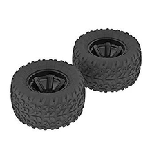 Load image into Gallery viewer, AR550014 Copperhead MT Tire/Wheel Glued Black (2)