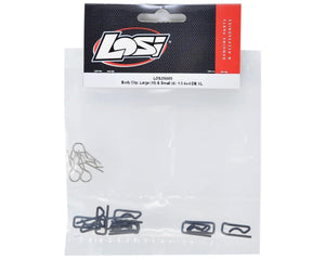 Body Clip, Large (10) & Small (4): 1:5 4wd DB XL