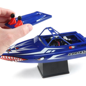 "Sprintjet 9"" Self-Righting Jet Boat Brushed RTR, Blue"