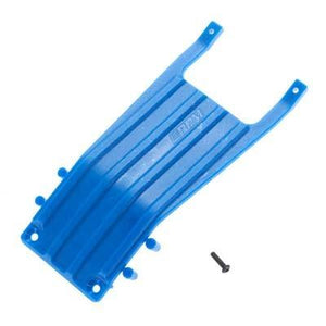 81255 Front Skid Plate Blue Slash