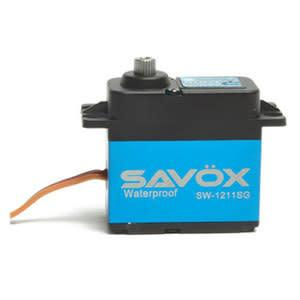WATERPROOF CORELESS DIGITAL SERVO .10/208.3 ALUM CASE