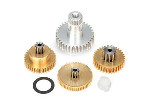 2087X - Gear set, metal (for 2085 & 2085X servos)
