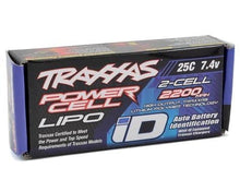 Load image into Gallery viewer, TRAXXAS 2S 2200MAH LIPO