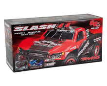 Load image into Gallery viewer, 68086-24 - Slash 4X4  1-10 Scale 4WD Electric Short Course Truck with TQi Traxxas Link Enabled 2.4GHz Radio System, On-Board Audio, & Traxxas Stability Management (TSM)   Blue