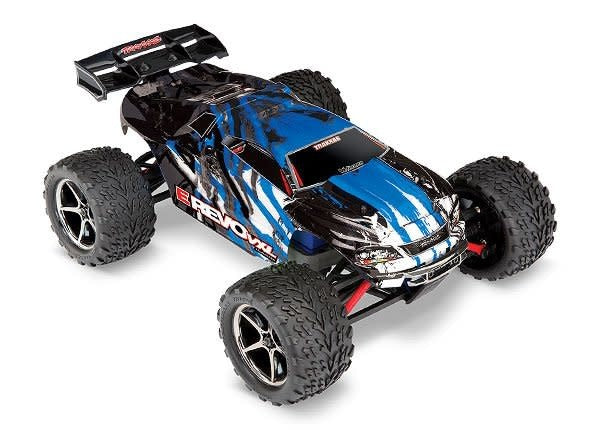 E-Revo VXL: 1/16-Scale 4WD Racing Monster Truck with TQi Traxxas Link Enabled 2.4GHz Radio System & Traxxas Stability Management (TSM)