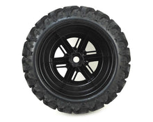 Load image into Gallery viewer, 7772A Tires and Wheels X-Maxx (2) Black Chrome