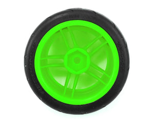 8373G Tires and wheels, assembled, glued (split-spoke green wheels, 1.9' Response tires) (front) (2) (VXL rated)