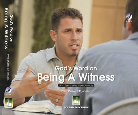 God's Word on being a Witness