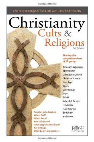 Christianity Cults & Religions by Rose Publications