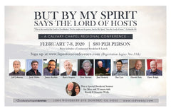 "Admission Ticket - "" But By My Spirit"" - 2020 L.A. Regional Pastors and Church Leaders Conference"
