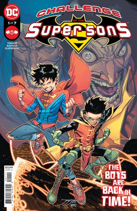Challenge of The Super Sons #1 Cvr A Jorge Jimenez - Comics