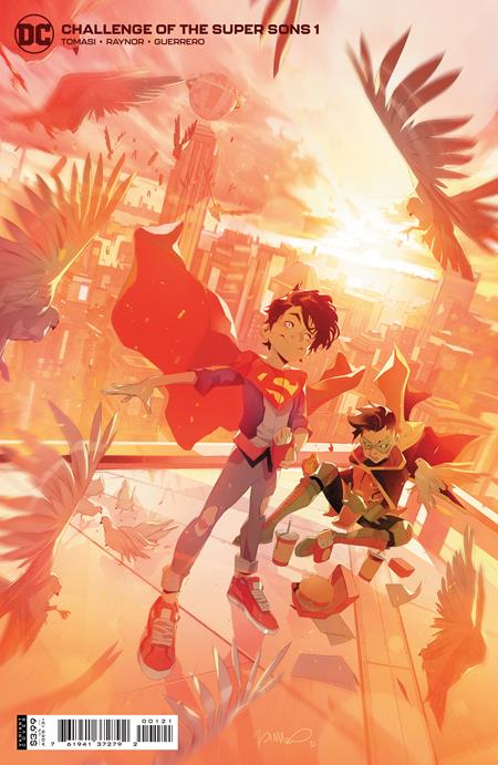 Challenge of The Super Sons #1 Cvr B Simone Di Meo Variant - Comics