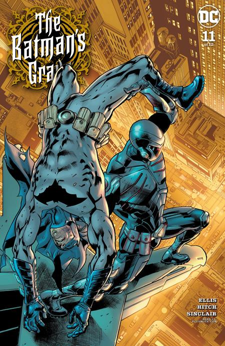 Batmans Grave #11 Cvr A Bryan Hitch (of 12) - Comics