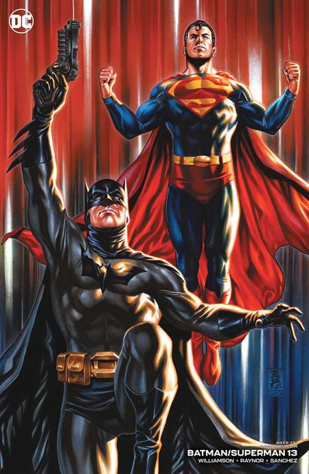 Batman Superman #13 Cvr B Mark Brooks Card Stock Variant - Comics