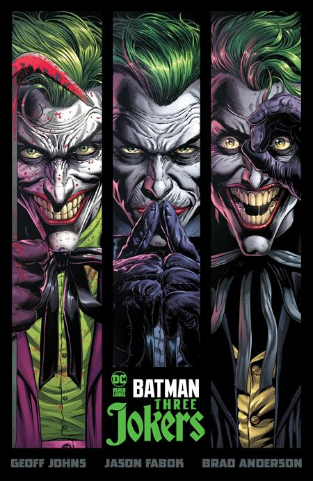 Batman Three Jokers HC - Books