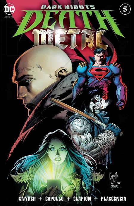 Dark Nights Death Metal #5 Cvr A Greg Capullo Embossed - Comics