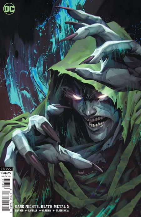 Dark Nights Death Metal #5 Cvr D Kael Ngu Spectre Variant - Comics
