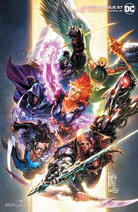 Justice League #57 Cvr B Philip Tan Variant - Comics