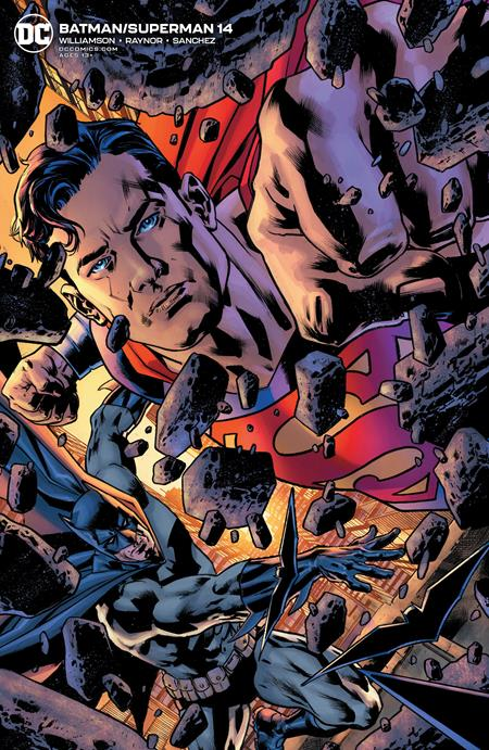 Batman Superman #14 Cvr B Bryan Hitch Var - Comics