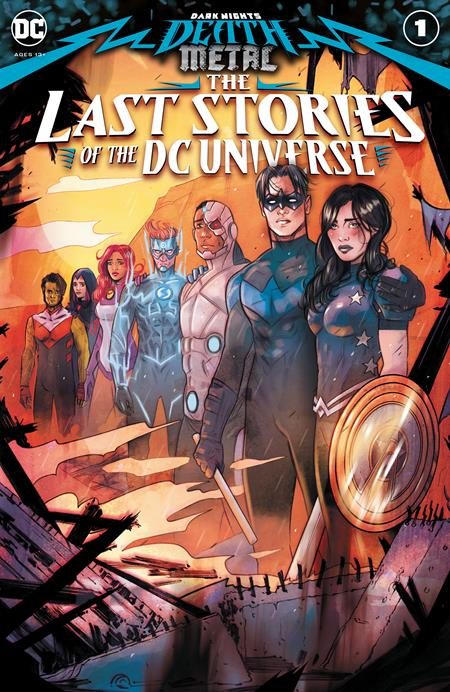 Dark Nights Death Metal The Last Stories of The DC Universe - Comics