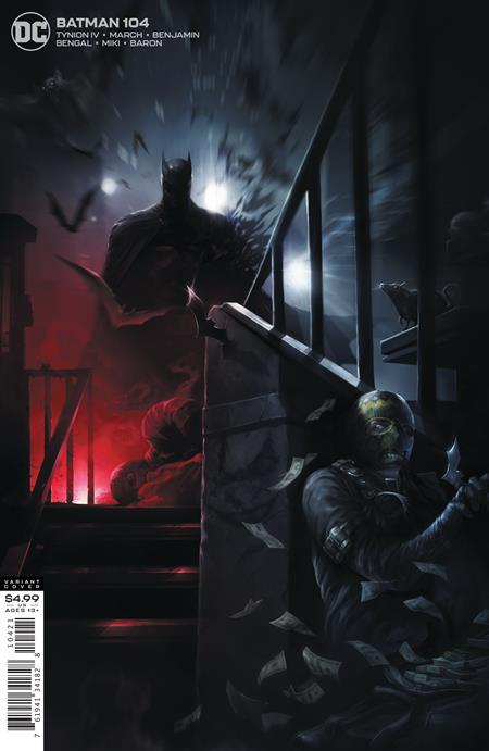 Batman #104 Cvr B Francesco Mattina Card Stock Variant - Comics