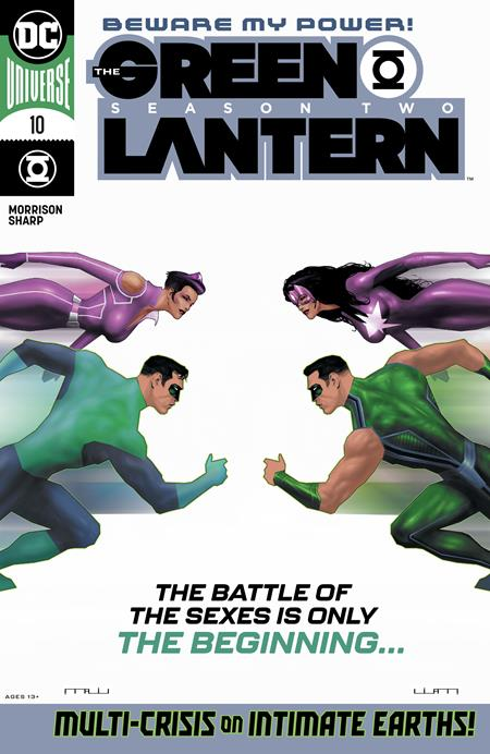 Green Lantern Season Two #10 Cvr A Liam Sharp (of 12) - Comics