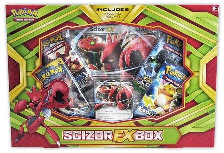 Pokemon Scizor Ex Collection Box