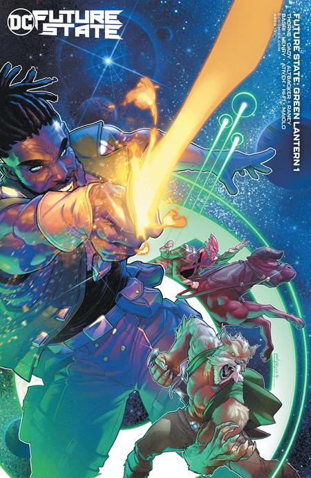 Future State Green Lantern #1 Cvr B Jamal Campbell Car - Comics