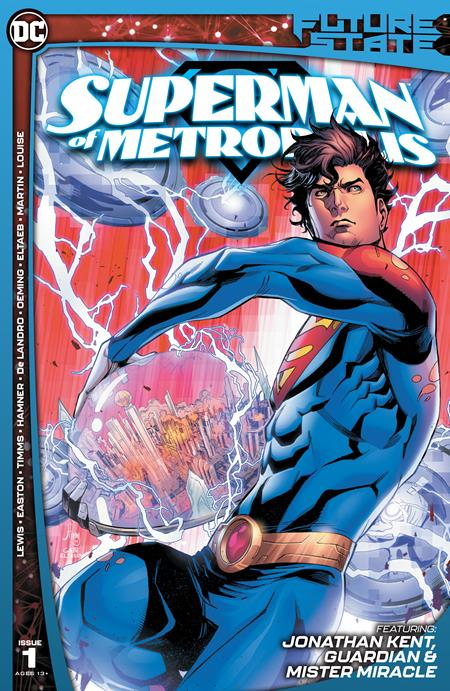 Future State Superman of Metropolis #1 Cvr A John Timm - Comics