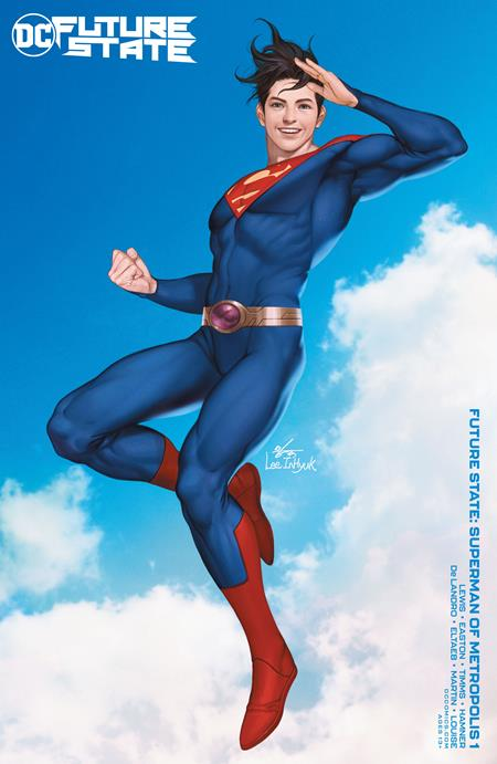 Future State Superman of Metropolis #1 Cvr B Inhyuk Lee Variant - Comics