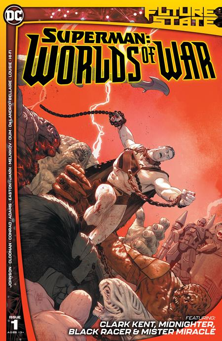 Future State Superman Worlds of War #1 Cvr A Mikel Janin - Comics