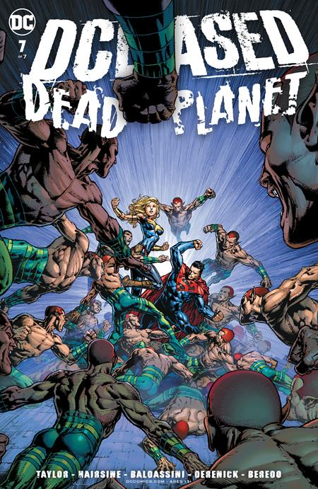 Dceased Dead Planet #7 Cvr A David Finch (of 7) - Comics