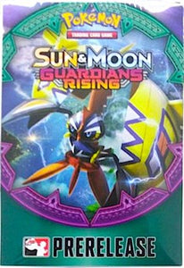 Pokemon Sun & Moon Guardian Rising Pre Release Pack
