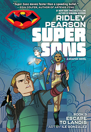 Super Sons TP Book 03 Escape to Landis