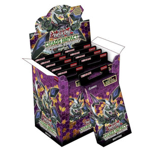 Yu Gi Oh Tcg Chaos Impact Special Edition Display