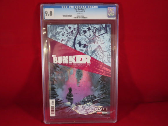 Bunker #1 CGC 9.8 First 1st print optioned for TV NBC