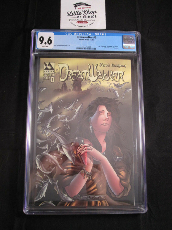 DREAMWALKER #0 CGC 9.6 1st Appearance GOON 4 PAGE PREVIEW Avatar Press