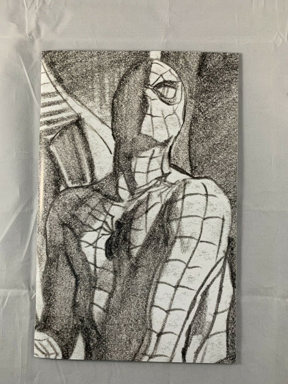 Amazing Spider #50 Alex Ross Timeless Sketch Virgin 1:100 Variant LGY #851