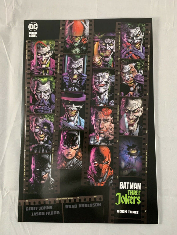 BATMAN THREE JOKERS #3 1:450 Premium Contact Variant Fabok DC Comics 2020
