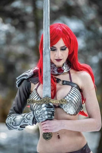 Red Sonja #14 Cosplay Virgin Variant