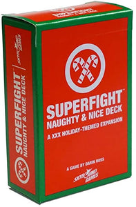 Superfight Naughty & Nice Deck