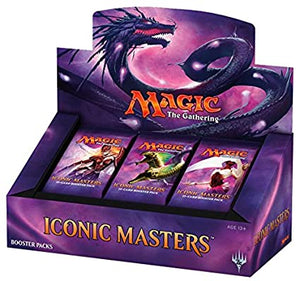 Mtg Iconic Master Booster Display