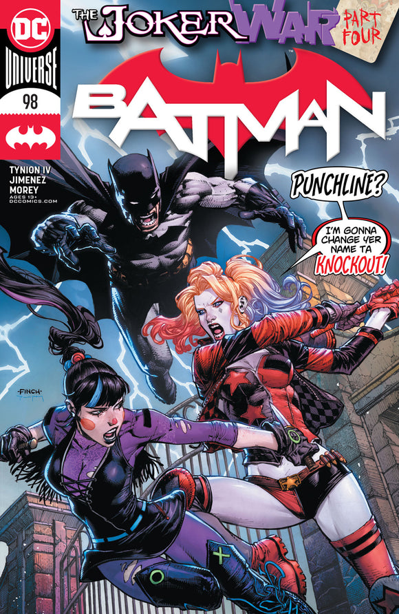 Batman #98 Cvr A David Finch