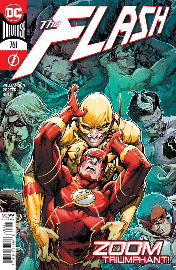 Flash #761 Cvr A Howard Porter