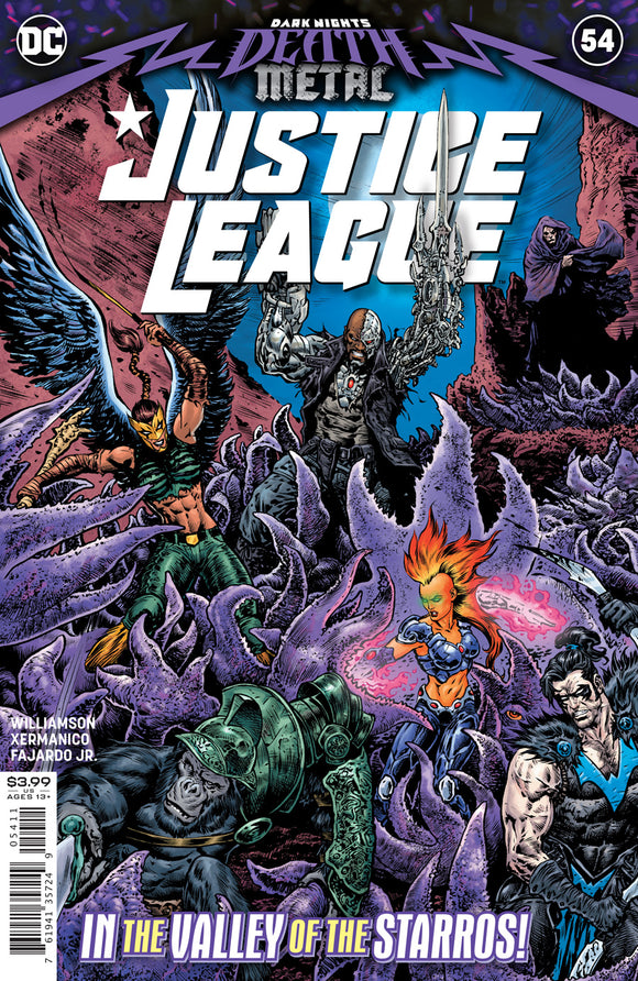 Justice League #54 Cvr A Liam Sharp