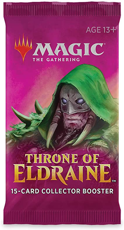 Mtg Tcg Throne Of Eldraine Coll Booster Pack